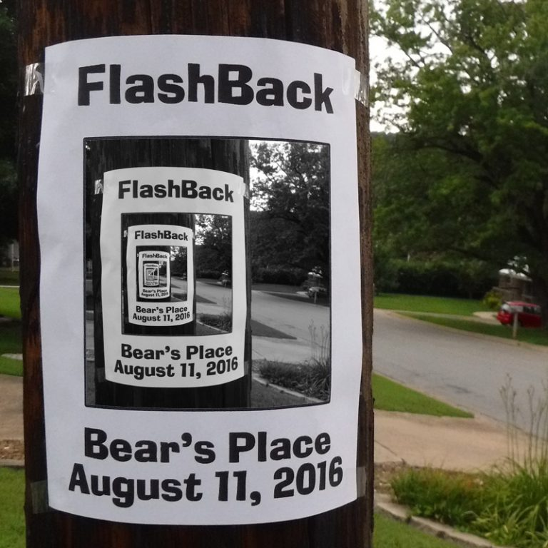FlashBack At Bear's Tonight: Music and Meteors