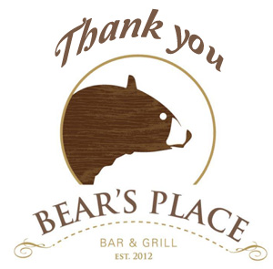 Bear's Place Closed