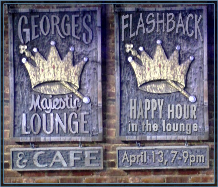 FlashBack at George's 4-13!